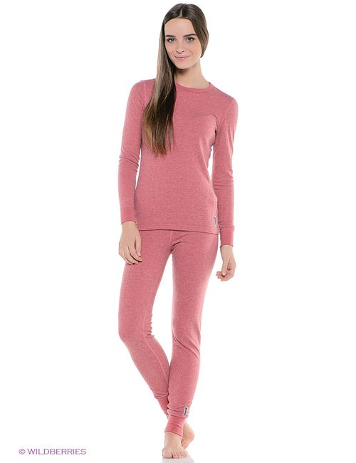 Guahoo | Женское Розовое Термобелье