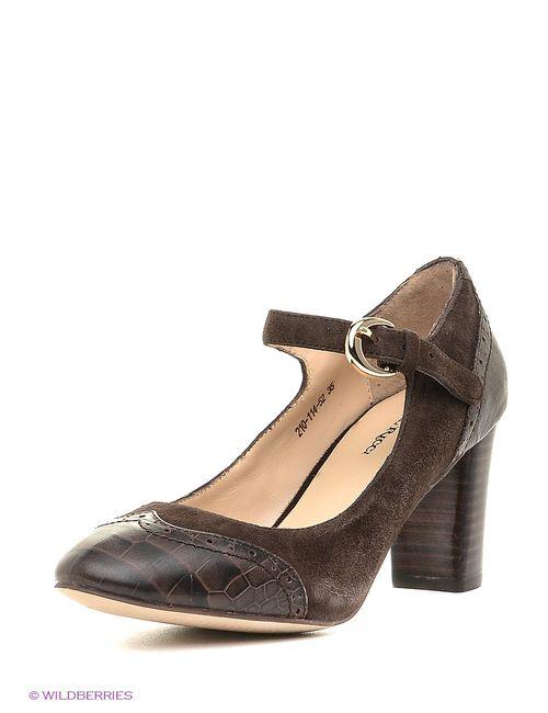 Dino Ricci | Женские Коричневые Туфли