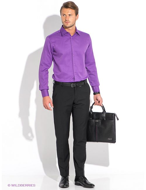 Favourite | Мужские Фиолетовые Рубашки