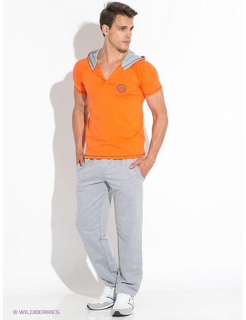 D.S | Мужская Оранжевая Футболка