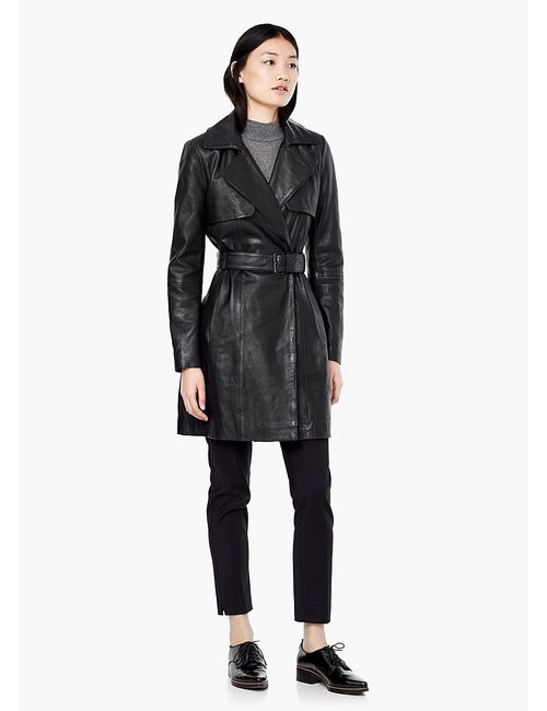 Mango | Женское Черный Пальто