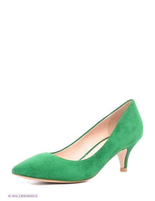 Tervolina | Женские Зелёные Туфли