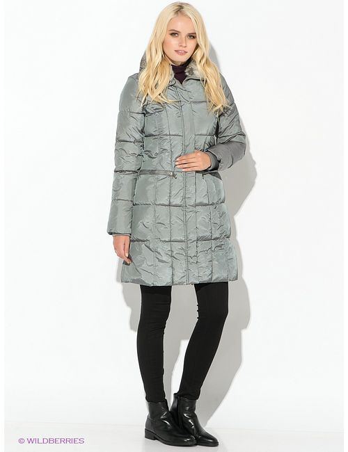Oodji | Женское Серое Пальто