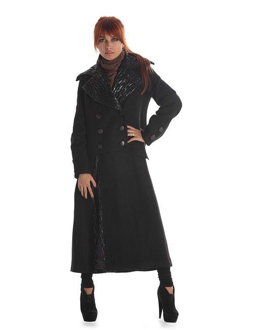 Artwizard | Женское Чёрное Пальто
