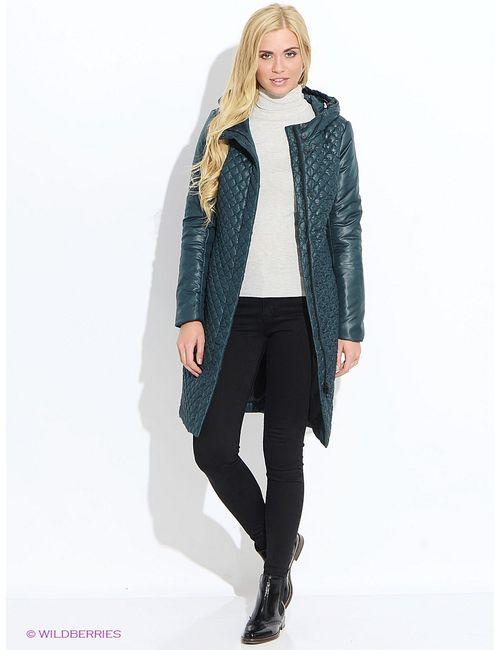 Doctor E | Женское Зелёное Пальто