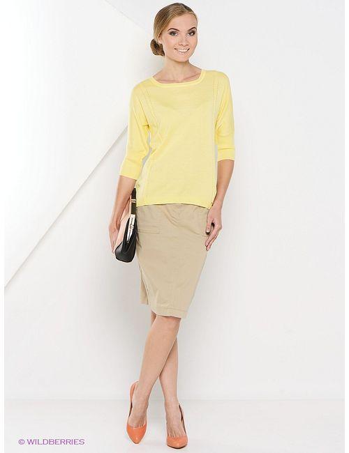 Gollehaug | Женские Жёлтые Пуловеры