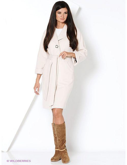 Electrastyle | Женское Кремовое Пальто