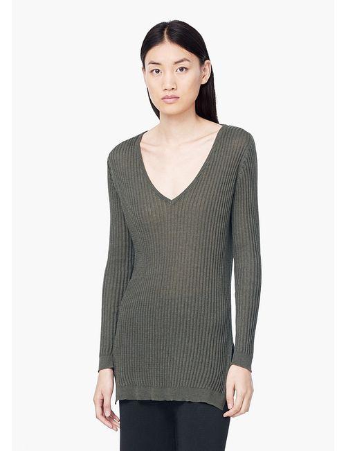 Mango | Женские Хаки Пуловеры
