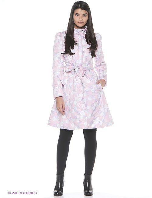 Doctor E | Женское Розовое Пальто