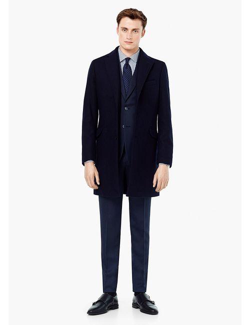Mango Man   Мужское Синее Пальто