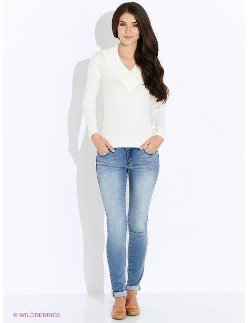 Oodji | Женские Белые Пуловеры