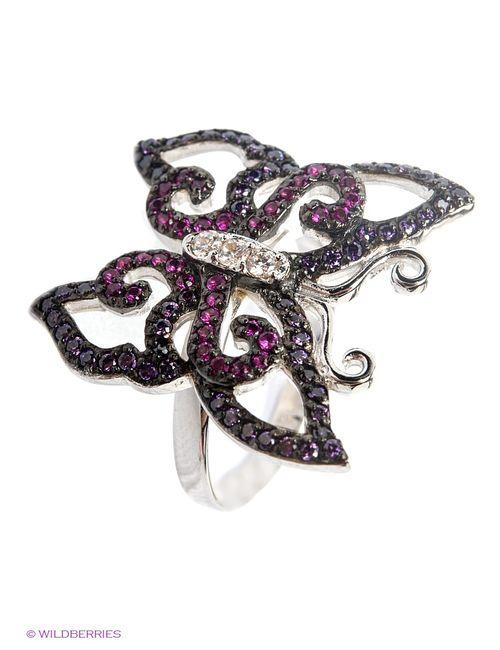 Art Silver | Женские Фиолетовые Ювелирные Кольца