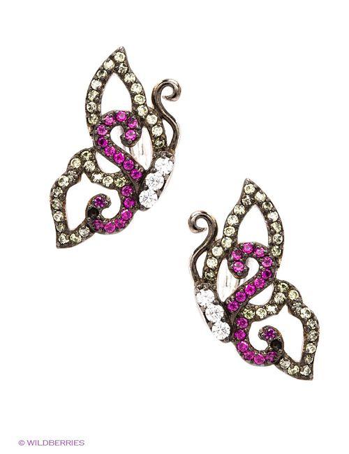Art Silver | Женские Розовые Ювелирные Серьги