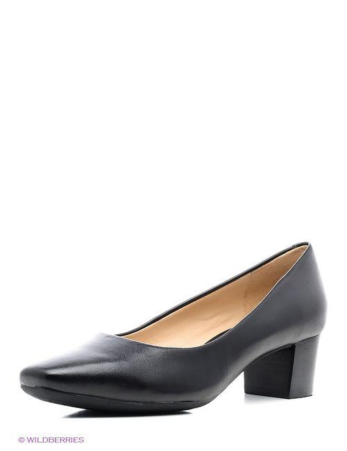 Geox | Женские Чёрные Туфли