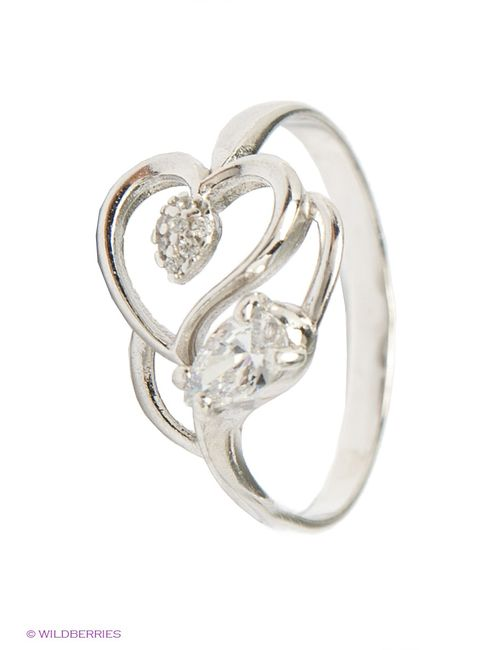 Lovely Jewelry | Женские Серебристые Ювелирные Кольца