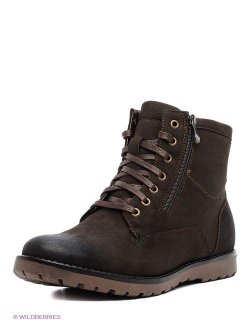 Tesoro | Мужские Коричневые Ботинки