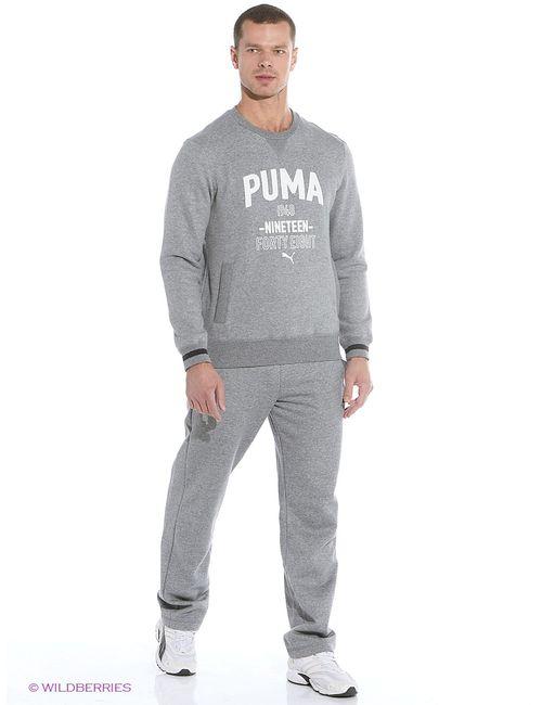 Puma | Мужские Серые Брюки