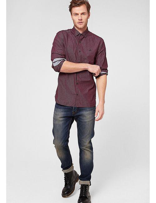 s.Oliver | Мужские Красные Рубашки