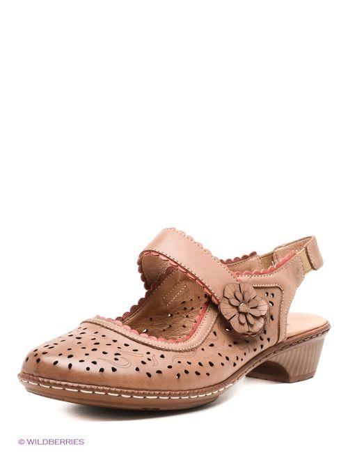 Baden | Женские Коричневые Туфли