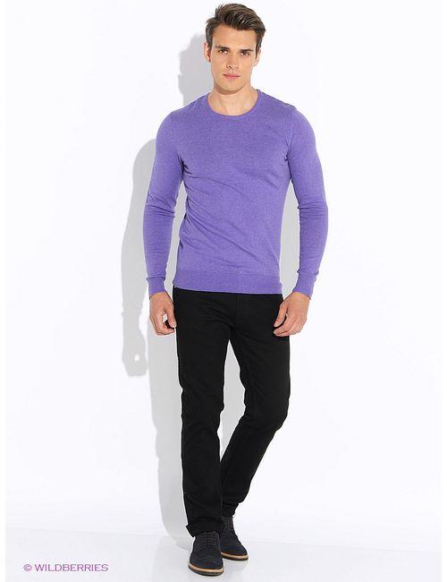 Oodji | Мужские Фиолетовые Джемперы