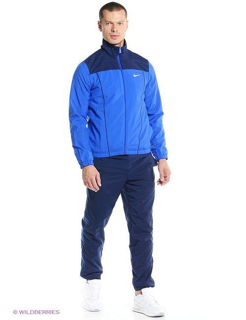 Nike | Мужские Синие Спортивные Костюмы
