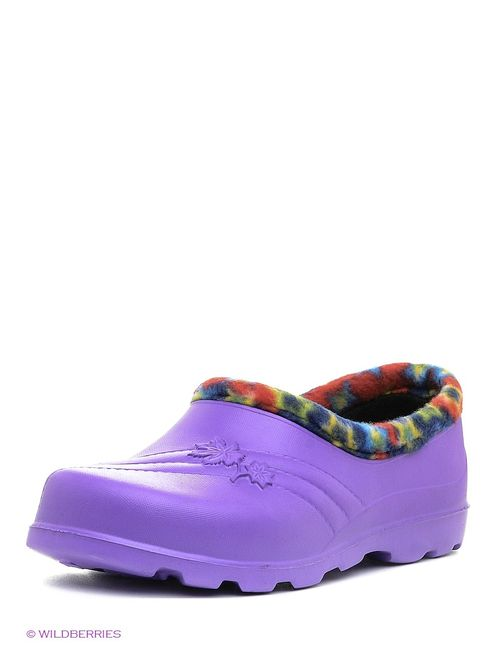 Janett | Женское Фиолетовое Сабо