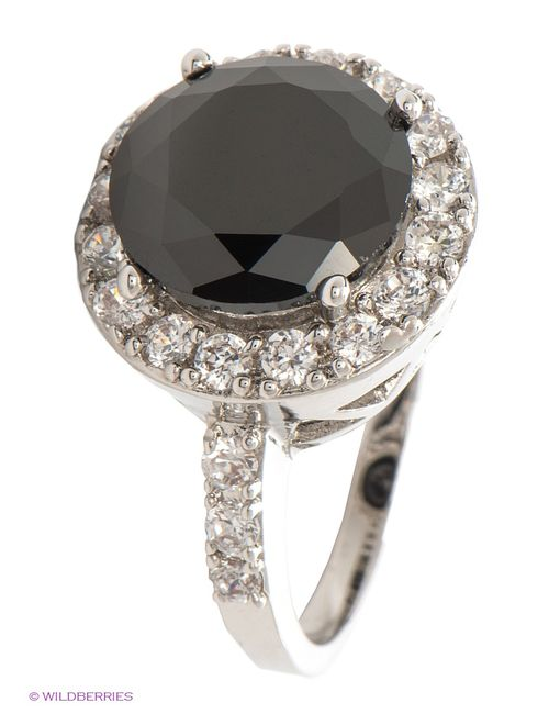Lovely Jewelry | Женские Чёрные Кольца