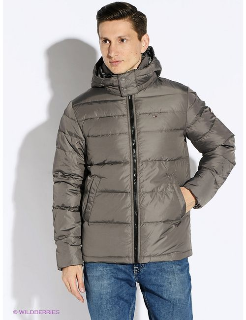 Tommy Hilfiger | Мужские Коричневые Куртки