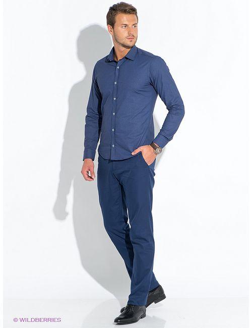 BAWER | Мужские Синие Рубашки