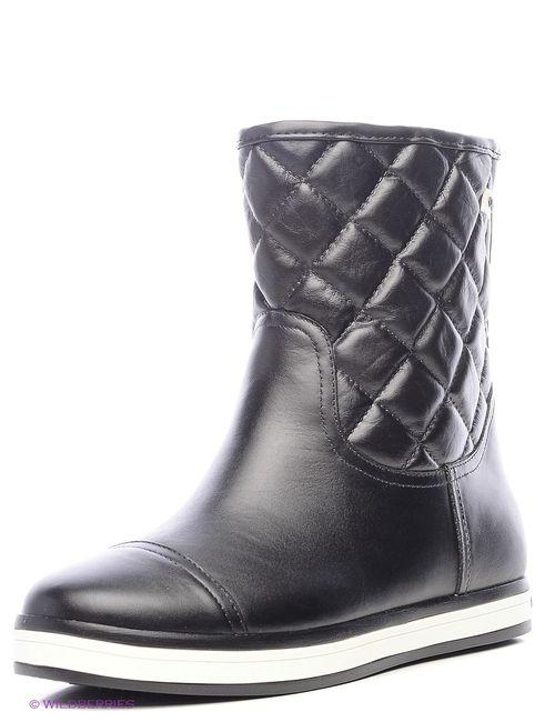 Cooper   Женские Чёрные Ботинки