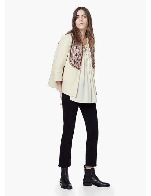 Mango | Женские Бежевые Куртки