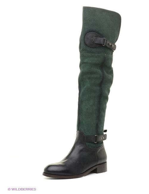 Velvet | Женские Зелёные Ботфорты
