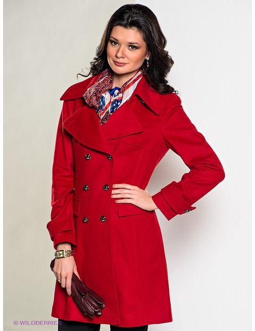 Elegance | Женское Красное Пальто