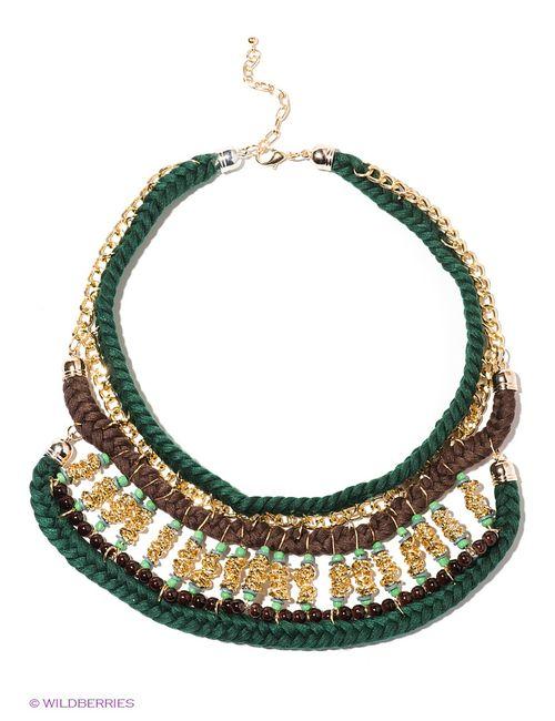 Lovely Jewelry | Женское Зелёное Колье