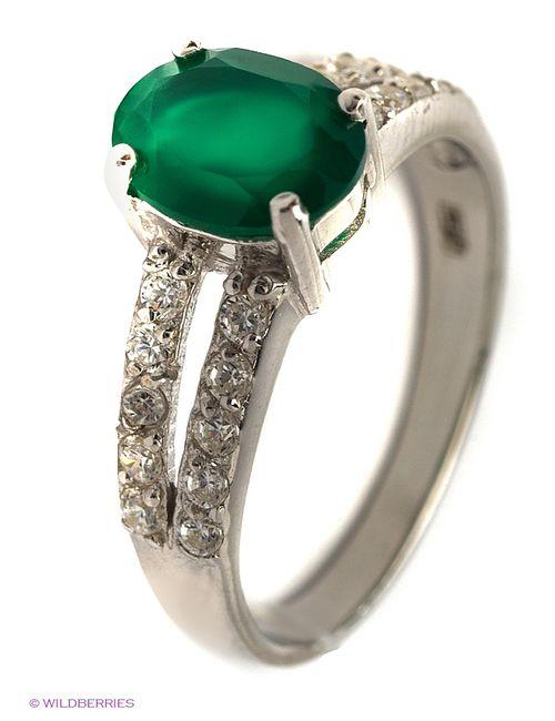 Balex | Женские Зелёные Ювелирные Кольца