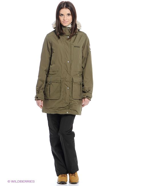 REGATTA | Женские Зелёные Куртки