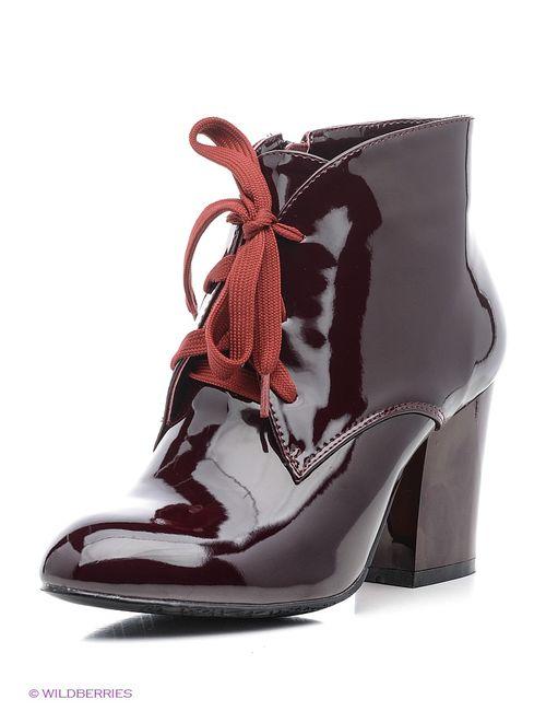 Evita | Женские Красные Ботинки
