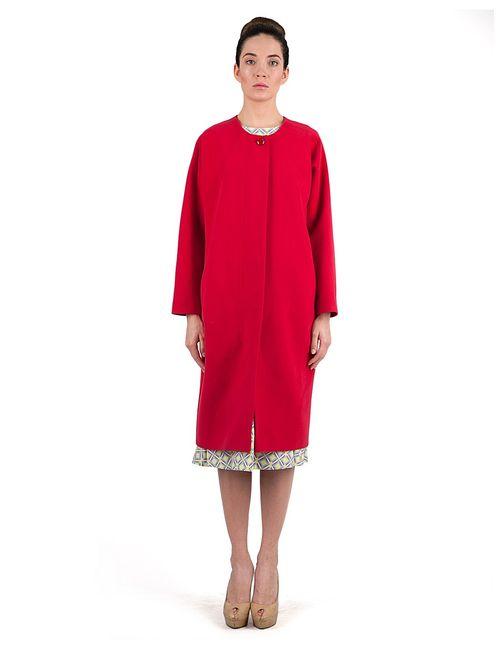Vika Smolyanitskaya | Женское Красное Пальто