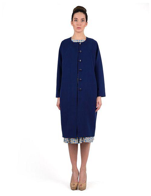 Vika Smolyanitskaya | Женское Синее Пальто