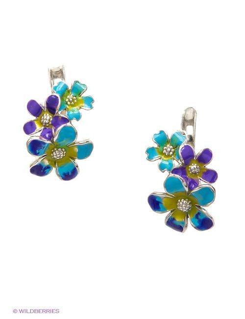 Lovely Jewelry | Женские Голубы Ювелирные Серьги