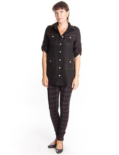 Lautus | Женские Чёрные Блузки