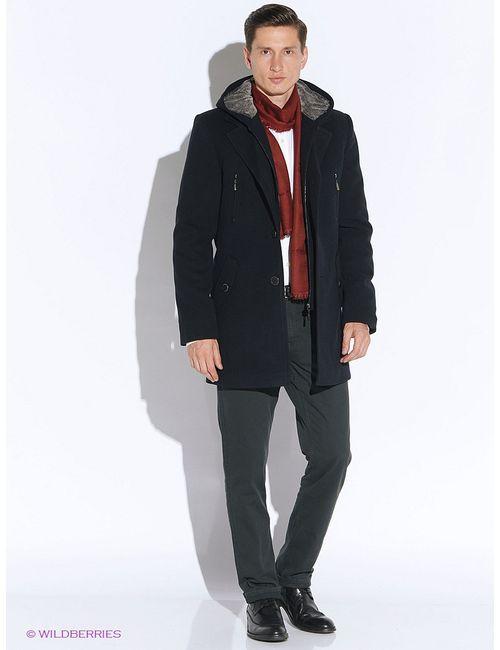 Sainy | Мужское Синее Пальто