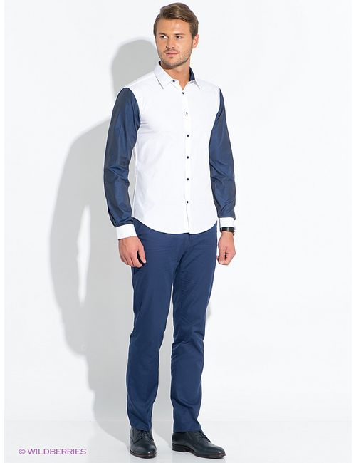 Hazard | Мужские Синие Рубашки