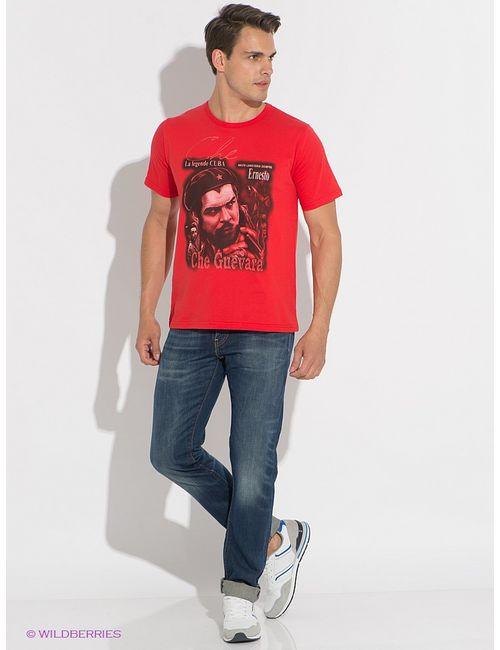 D.S | Мужская Красная Футболка