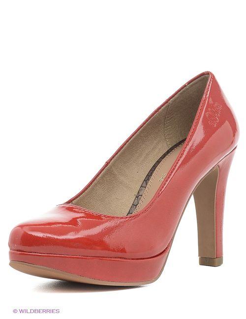 s.Oliver | Женские Красные Туфли
