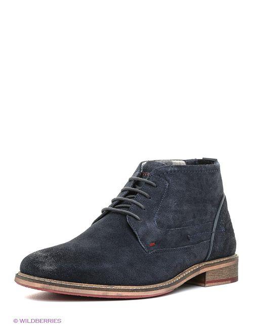 s.Oliver | Мужские Синие Ботинки