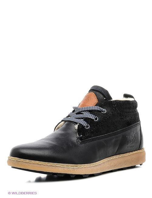 El Tempo | Мужские Чёрные Ботинки