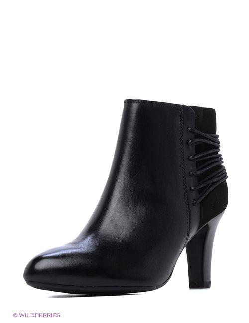 Caprice | Женские Чёрные Ботинки