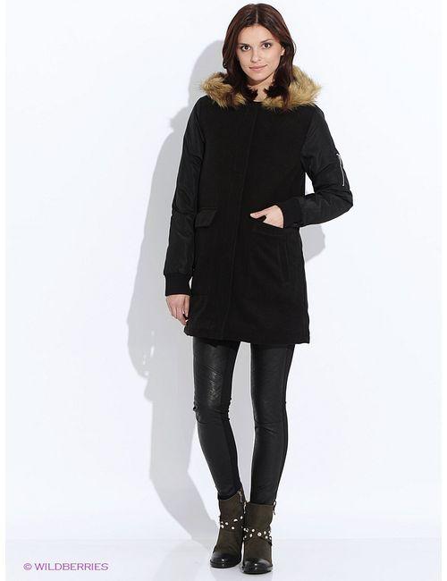 Troll | Женское Чёрное Пальто