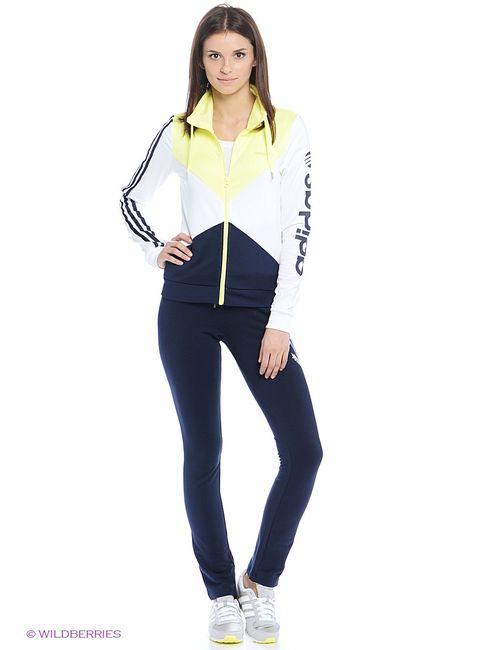 Adidas | Женские Белые Толстовки